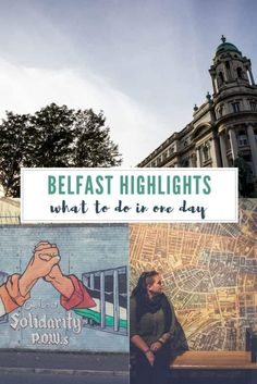 One day is definitely not enough for this city in Northern Ireland but if you're crunched for time, here's the Belfast points of interest that I would suggest.   #Belfast #Ireland #NorthernIreland #belfastcity #titanicbelfast #veganbelfast #belfastvegan #veganireland