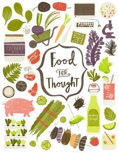 Food as art? Oh, yeah! Lauren Radley - Eye Candy Illustration Agency. – I Quit Sugar