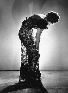 Fashion photography, 1930.