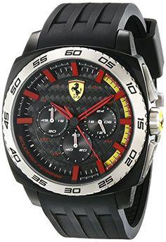 Ferrari Men's 830202 Aerodinamico Analog Display Quartz Black Watch - http://www.caraccessoriesonlinemarket.com/ferrari-mens-830202-aerodinamico-analog-display-quartz-black-watch/  #830202, #Aerodinamico, #Analog, #Black, #Display, #Ferrari, #MenS, #Quartz, #Watch #Enthusiast-Merchandise, #Ferrari