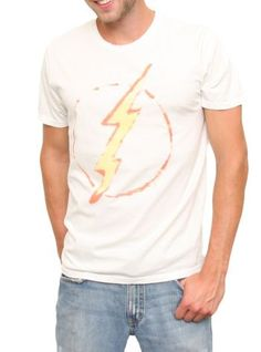 The Flash Vintage Inspired Solid Tee @ http://www.junkfoodclothing.com