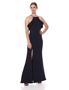 Calvin Klein Women's Spaghetti Back Maxi Dress Cover Up, Black, Large/X-Large – Todays Shopping Dresses For Work, Summer Dresses, Mid Length Dresses, Long Dresses, Striped Maxi Dresses, Junior Outfits, Revolve Clothing, Women's Clothing, Dress Backs