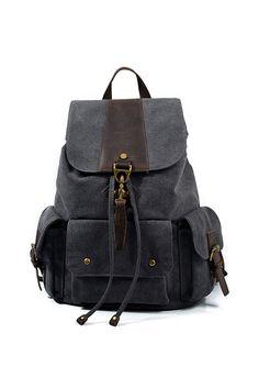New Vintage Leather Military Backpacks Men/Women School Backpacks men Travel bag big Canvas Backpack Large bag Cow Leather Rucksack Backpack, Canvas Backpack, Laptop Backpack, Leather Backpack, Leather Bags, Cow Leather, Vintage Leather, Vintage Backpacks, Computer Bags