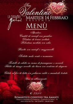 Menu Cena San Valentino