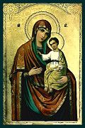 Madonna And Child Christian Art by Christian Art