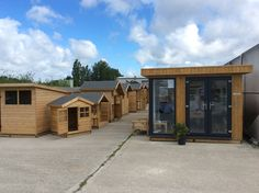 Solid sheds display at Avant garden centre Solid Sheds, Garden Sheds For Sale, Garden Centre, Wooden Garden, This Is Us, Outdoor Structures, Display, Home, Products