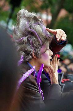 Disney Villains, Minions, Cosplay, Hair Styles, Beauty, Hair Plait Styles, The Minions, Hair Makeup, Hairdos