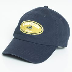 100% cotton brushed twill cap with Landshark printed applique patch.  One size with adjustable back.  Light abrasions on brim for a time worn look.  Hand wash, imported.