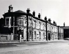 According to old books on West Hartlepool this building, in Mainsforth Terrace, used to be the original railway station. I certainly remember it as a parcels office and goods yard as it was right next door to the sheds.