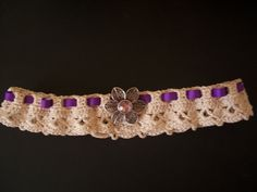Ravelry: Crochet Lace Wedding Garter pattern by Melisa Darnieder