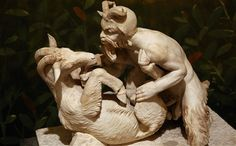 Pan with a she-goat... interesting.  it's like a train wreck, can't look away.  but if this were the norm would it be wrong?