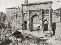 SETTIMO SEVERO Arco di #Settimio #Severo nel Foro Romano, Roma,Italy.