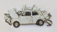 BBC - Autos - In Israel, flattened Fiats as art