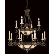 View the Savoy House 1-3412-12 Tuscan Eighteen Light Up / Down Lighting Chandelier from the Empire Collection at LightingDirect.com.