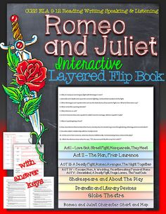 Romeo and Juliet: Interactive Layered Flip Book ($)