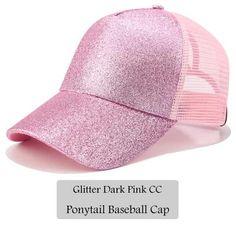 e573a0c5f4e Dad Hat CC Ponytail Snapback Baseball Cap Messy Bun Caps For Women Female  Summer Mesh Trucker Hat 2018 Fashion Girl Hip Hop Hats