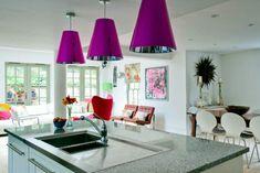 Cum combinăm culoarea roz fucsia pentru un decor îndrăzneţ - Edifica Interior Design, Anime, Nest Design, Home Interior Design, Interior Designing, Cartoon Movies, Home Decor, Anime Music, Interiors