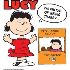 Lucy is happy to provide psychiatric help for only .05 cents.