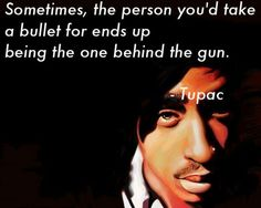 Sometimes the person you'd take a bullet for end up being the one behind the gun.