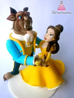 Beauty and the beast toppers