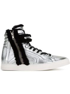 PIERRE HARDY Hi-Top Lace-Up Sneakers. #pierrehardy #shoes #flats
