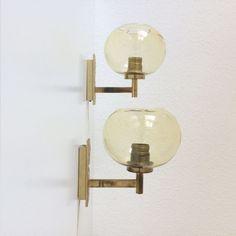 2 x Elegante Mid Century Modern WANDLAMPEN  von MUNICHMODERN