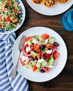 Greek Salad | A Couple Cooks