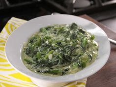 Creamed Spinach - Bobby Deen