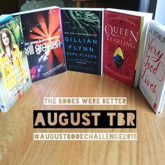 #augustbookchallenge2015 #bookstagram #igreads #TheBooksWereBetter #bookblogger