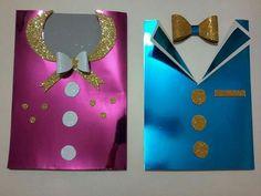 Gelişim Dosyası Diy And Crafts, Crafts For Kids, Arts And Crafts, Shagun Envelopes, Clothing Themes, Wedding Gift Baskets, Puppet Crafts, Little Pony Party, Kids Birthday Cards