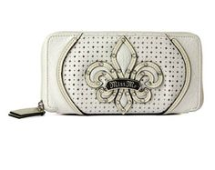 Miss Me Zip Around Wallet - White $44.00 #SouthernFriedChics
