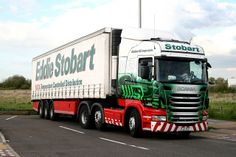 Eddie Stobart H6406 PJ11 YCF 'Lucy Mary' Scania R440 Eddie Stobart Trucks, Old Wagons, Swedish Brands, Busses, Cool Trucks, Cars And Motorcycles, Mary, Videos, Vehicles