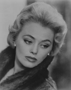 A very young Rue McClanahan, for most of us better known as Blanche Devereaux from the TV series 'The Golden Girls'