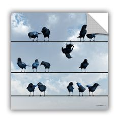 Showoff by Cynthia Decker Art Appeelz Removable Wall Mural