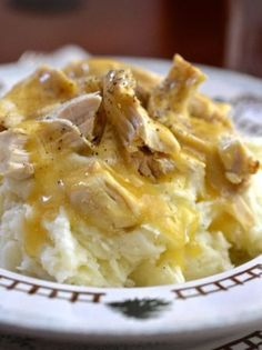 Crockpot Chicken and Gravy ... ALL RIGHT!