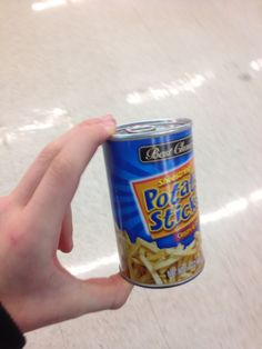Fries in a can! Oh ya!