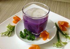 Vietnamese Food - Purple Yam Sweet Soup