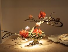 The Nordic Lotus Ikebana Blog: Ohara Exhibtion Flower and Space