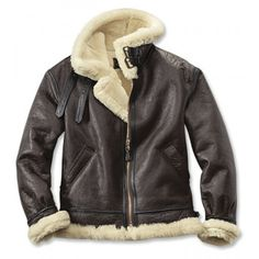 Hot B3 Bomber Shearling Leather Jacket