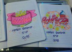 My Notebook, Ideas Para, Banner, Bullet Journal, Notes, Fancy, Lettering, Feelings, Drawings