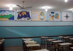 Painéis para sala de Geografia