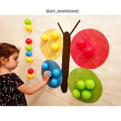 Who goes there with a small child coming on a school vacation? 😫 I have been researching some Montessori jokes to do at home with Heitor and … Preschool Learning Activities, Color Activities, Infant Activities, Kids Learning, Kids Crafts, Preschool Crafts, School Vacation, Kids Education, Art For Kids