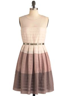 On and Ombre Dress, #ModCloth