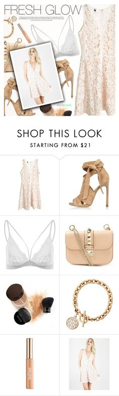 """""""Fresh Glow"""" by black-fashion83 ❤ liked on Polyvore featuring River Island, Valentino, Laura Mercier, Michael Kors, Terre Mère, polyvoreeditorial, polyvoreset and stylemoi"""