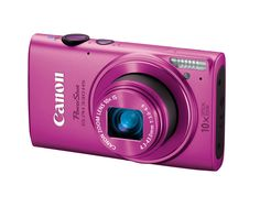 Canon PowerShot ELPH 330 HS Pink from Gifts for the Tech-Savvy Girl | E! Online  (((( so cute!!!))))