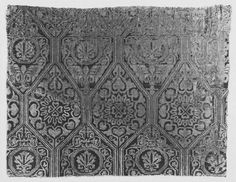 Textiles and Fashion Collection ~ Byzantine, lampas ~ 1000-1199 ~ V & A Museum