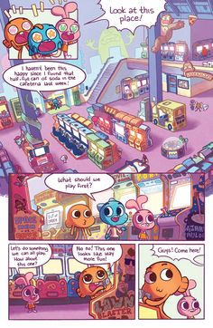 Preview: The Amazing World of Gumball 2015 Special #1,   The Amazing World of Gumball 2015 Special #1 Story: Tait Howard, Andrew Green and Zachary Clemente Art: Katy Farina, Andrew Green and Andy Hirsc...,  #All-Comic #All-ComicPreviews #AndrewGreen #AndyHirsch #Boom!Studios #Comics #EvanPalmer #kaboom! #KatyFarina #LaurenDuda #MissyPena #Previews #TaitHoward #TheAmazingWorldofGumball2015Special #ZacharyClemente