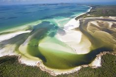 Hill Inlet, Whitsunday Islands, Queensland, Australia