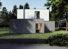 Tamizo architects group - Project - m-house - Farmhouse Style Decorating, Farmhouse Chic, Farmhouse Design, Tamizo Architects, Architect Logo, Architect House, Famous Architects, House Windows, Warsaw