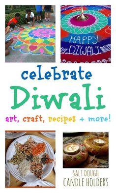 diwali activities for children :: diwali crafts :: diwali for kids